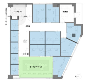 billage OTSU 石山駅前近江鉄道ビル フロアマップ