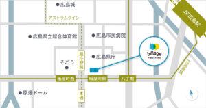 billage HIROSHIMA アクセスマップ